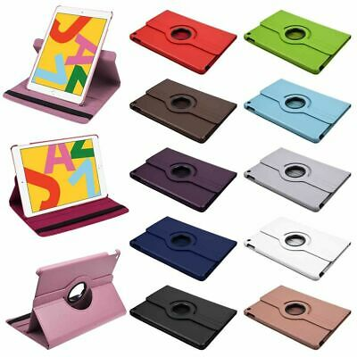 "360° Cuero Funda Carcasa Tablet Para Apple iPad 10.2"" 2019 (7th Generacion)"