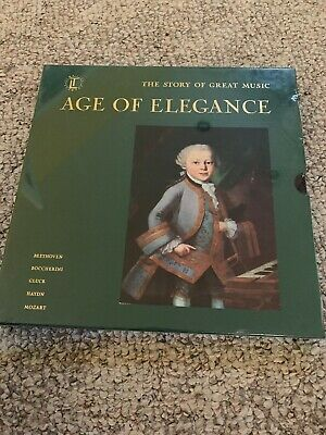 Time Life The Story Of Great Music Age of Elegance Set Factory Sealed Brand New