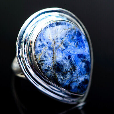 Large Sodalite 925 Sterling Silver Ring 8 Ana Co Jewelry R973268