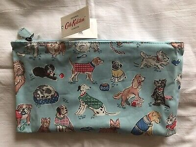 Cath Kidston Makeup Bag/Wash Bag -Dogs Design - New With Tags - (Retired Print)