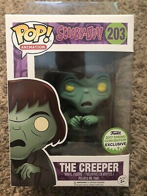 Funko POP! Scooby Doo The Creeper #203 ECCC Exclusive With Pop Protector