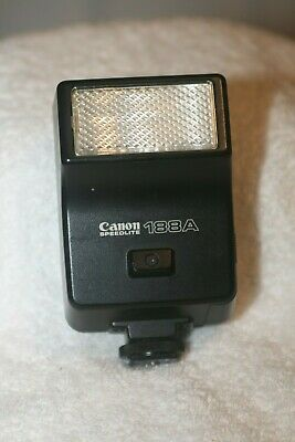 Exc- Canon 188A Speedlite Flash,  Very Clean, Tested