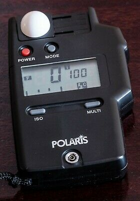 Polaris Flash and Ambient Light Meter with Incident and Reflection Measurement