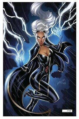 House Of X #5 J Scott Campbell Storm Glow In The Dark Variant Nycc 2019