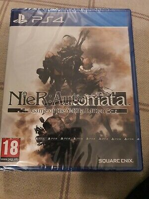 Nier: Automata Game of the YoRHa Edition - Playstation 4, 2019 Brand New and Sea