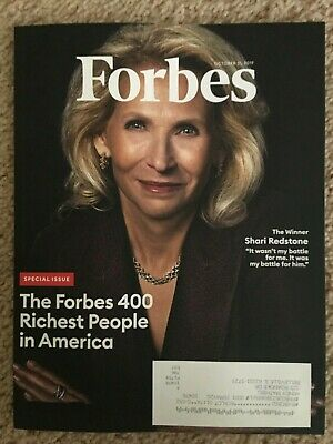 Forbes Magazine 400 Richest People In America October 2019 Brand New