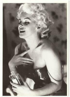 Marilyn Monroe in 1950s with Chanel No. 5 Perfume Modern Postcard
