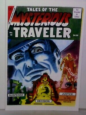 Steve Ditko Comics Tales Of The Mysterious Traveler #19 2016 New Nm Condition