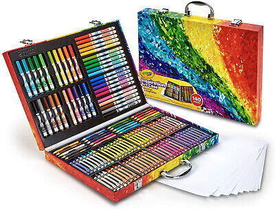 Colouring Crayons Pencils Textas Set Kids Childrens Art Craft Drawing Crayola