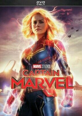 Captain Marvel DVD - Brand New - Free First Class Ship