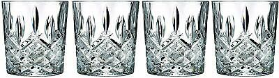 Waterford Markham Double Old Fashioned Durable Crystalline Clarity, Set Of 4