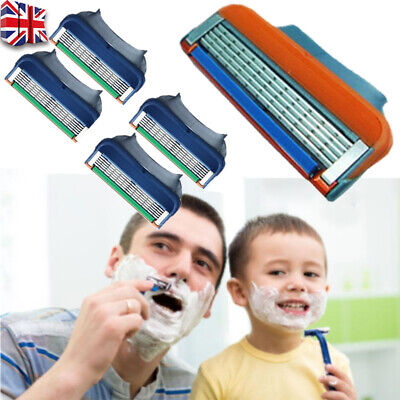 4/8/16 Pcs Men's Cartridges Replacement Shaving Razor Blades For Gillette Fusion