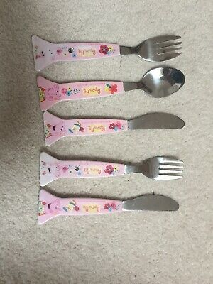 Toddler Cutlery Sets - Pink - Peppa Pig - Knives, forks, spoons