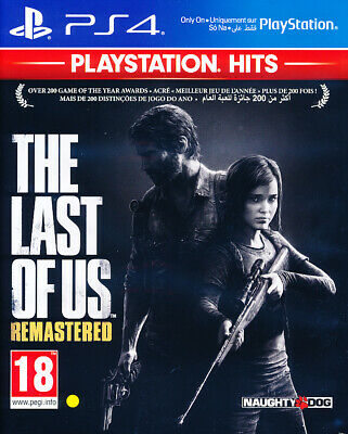 Last of Us Remastered PS4 Game (PlayStation Hits)