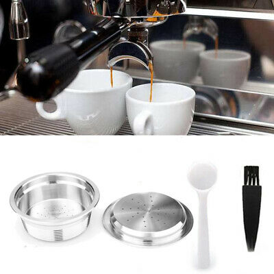 Stainless-Steel Refillable Reusable Coffee Filter Capsule For LAVAZZA A MODO MIO