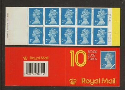 GB Stamps: Decimal Machin Barcode Booklet HC1a.