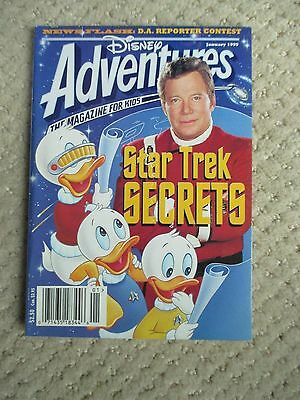 Star Trek -- Disney Adventures Star Trek Secrets January 1995