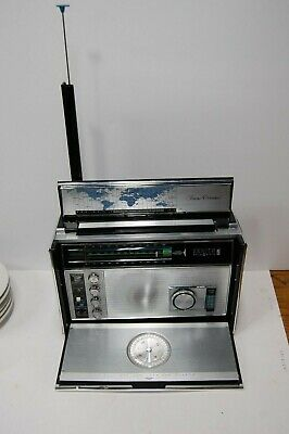 Vintage Zenith Royal 7000-1 Working Trans-Oceanic Weather 11-Band Shortwave