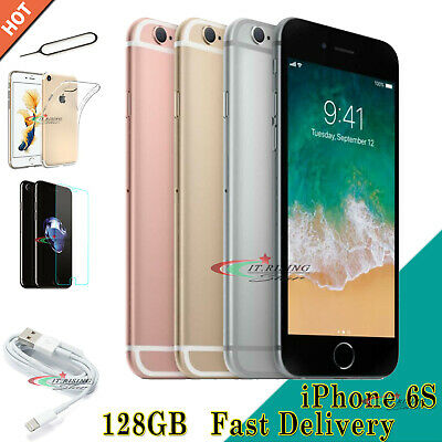 Mobile Smartphone Apple iPhone 6s 128GB 64GB New Sim Free Unlocked ALL Colours