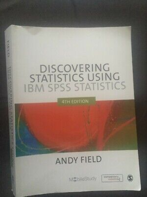 Discovering Statistics Using SPSS by Andy Field 4th edition (Paperback, 2009)
