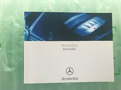 Mercedes Service History Book, Brand New & Genuine, Not Duplicate, All Models