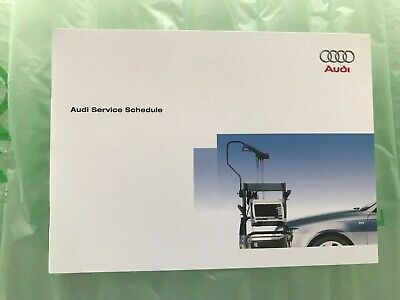 Audi A3 Service Book Genuine Brand New For All Models Petrol And Diesel Tdi Tfsi