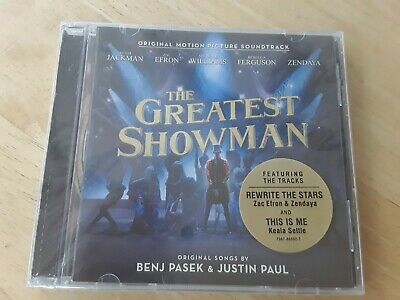 The Greatest Showman Motion Picture Soundtrack . .... New Sealed