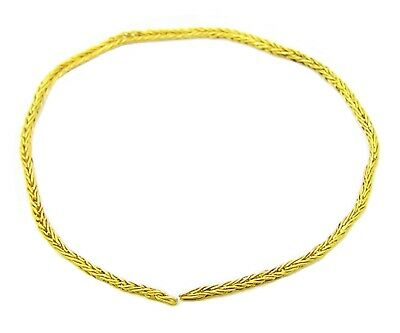 4th - 5th century A.D.  Ancient Roman Thetford Type Gold Chain Necklace Section