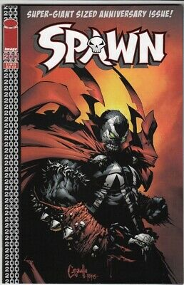 Spawn #200 NM+ Super-Giant Sized Anniversary Issue (2011) Greg Capullo cover