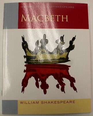 Oxford School Shakespeare: Macbeth - Illustrated Paperback Book (2004)  - Y99