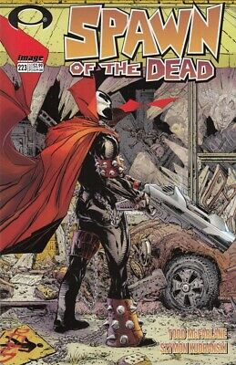 Spawn #223 NM Walking Dead #1 Homage Cover (2012) Todd McFarlane cover