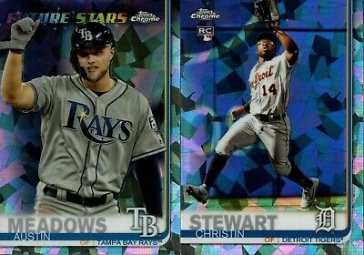 2019 TOPPS CHROME SAPPHIRE BASE REFRACTOR SINGLES w/ RC 500-700 YOU PICK FOR SET