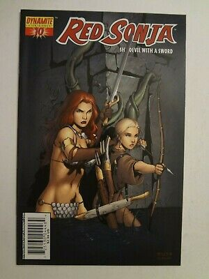 Red Sonja #10 - Dynamite Entertainment - Cover C - Mel Rubi