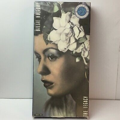 Billie Holiday The Legacy Box 1933-1958 3 CD Box w/ booklet insert 1991 VG+