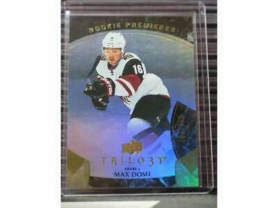 2015-16 Trilogy Max Domi Level I Rookie Premieres RC #054/999 Coyotes LG