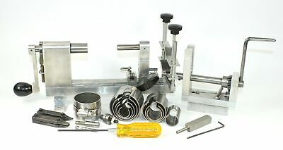 CLOCK MAINSPRING WINDERS (2 sets) w/CLAMPS, ETC. - VINTAGE OH935