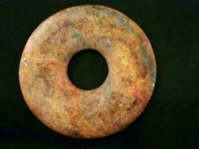 Beautiful Chinese Old Jade *HongShan Culture* Bi J097