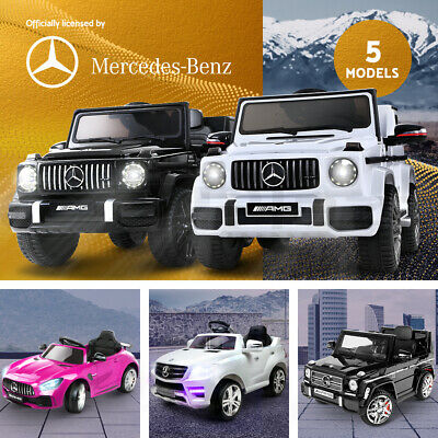 Kids Ride On Cars Electric Car Mercedes-Benz Licensed Toys 12V Remote Control