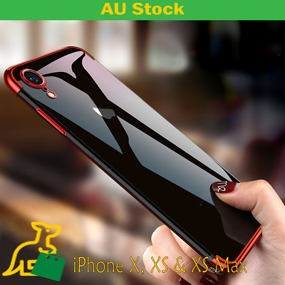 Luxury Plating Soft Slim Case Cover for iPhoneX - XS - XS Max