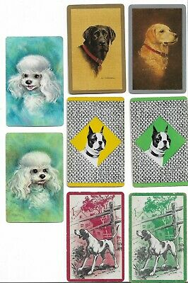 Dogs, Dogs, Dogs X 30 Only Single Vintage Playing/Swapcards..(15 Pairs)