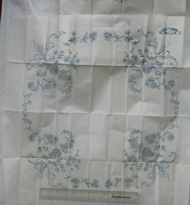 Briggs Old Bleach Special Transfer No. 52266 Class B - floral tablecloth