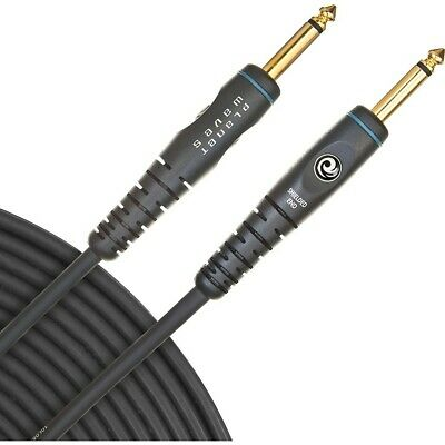 """D'Addario Planet Waves Gold-Plated 1/4"""" Straight Instrument Cable  10 ft."""