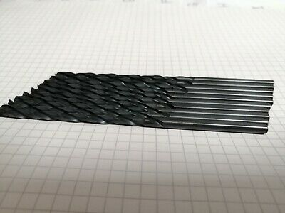 4mm High speed drill bits ground flute - pack of 10