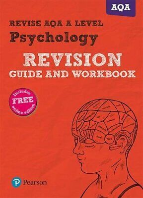 Revise AQA A Level Psychology Revision Guide and Workbook by Middleton New--