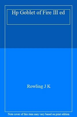 Harry Potter and the Goblet of Fire, Rowling 9781408845677 Fast Free Shipping--