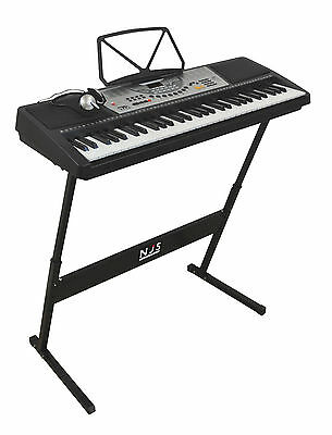 NJS800 61 Key Full Size Digital Electronic Keyboard Kit