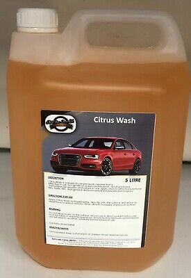 Citrus Wash All Purpose Cleaner & Pre Wash 5L + Free Spray Bottle