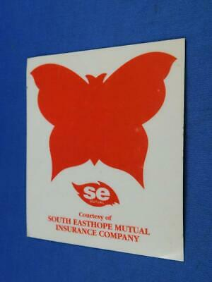 South Easthope Mutual Insurance Company Decal Sticker Window Cling Advertising