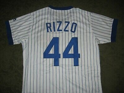 NWT, Chicago Cubs Anthony Rizzo jersey, mens L, all sewn on, GREAT DEAL