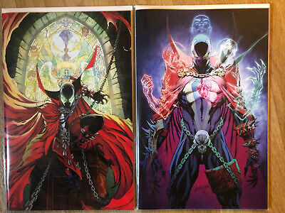 Spawn #300 #301 J Scott Campbell Virgin Variant Covers Image ComicsNM 1st Prints